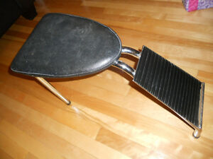 Antique Vintage Retro Banc a souliers, Shoe Seat Retro