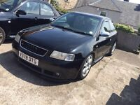 Audi s3 £1400 this weekend.