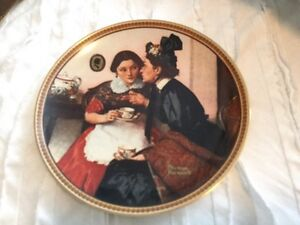 Collections d'Assiettes Norman Rockwell Plates