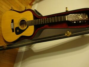 Vintage Yamaha 12 String Guitar