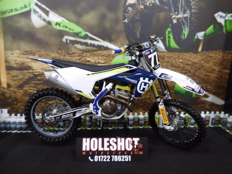 Husqvarna FC 250 Motocross bike (Finance available)