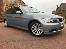 *12 MTHS WARRANTY*2006(06)BMW 320 DIESEL AUTO SE TOURING WITH LEATHER FSH*