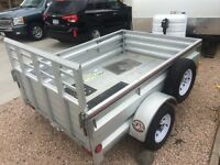 Brand new utility trailer with extras!