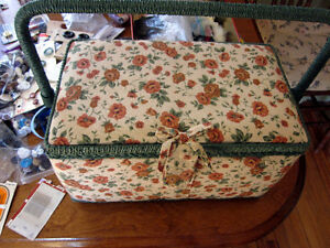 Sewing Basket  and  Notions