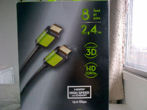 CABLE HDMI INSIGNA POUR TELEVISION West Island Greater Montréal image 1