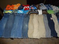 Boys 48 piece clothing lot size 5-6