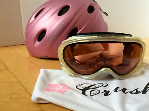 Helmet and goggles