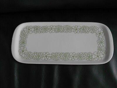 Arzberg Form 5500 Brasilia Blütennetz, Königskuchenplatte längliche Kuchenplatte