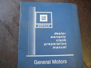 1976 CHEVETTE and ACADIAN ORIGINAL GM MANUAL
