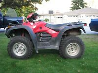 Priced to sell !  Hardly used quads and trailer $11,000!!