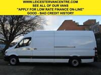 2015 65 MERCEDES-BENZ SPRINTER 2.1 313CDI LWB HIGH ROOF 129 BHP. NEW SHAPE. 1 OW