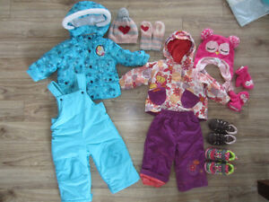 toddler girls outdoor clothes + accesories