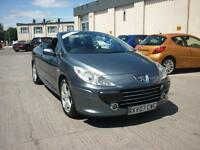 2007 Peugeot 307 CC 2.0HDi ( 136bhp ) Coupe Sport Finance Available