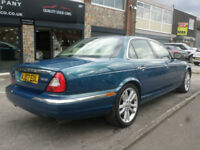 2007 Jaguar XJ Series 2.7TDVi auto XJ Sovereign 4DR 07 REG Petrol Blue