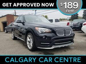 2015 BMW X1 $189B/W w/Leather, PanoRoof, Navi. DRIVE HOME TODAY!