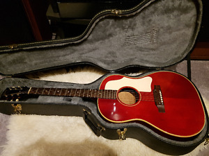 Vintage 1966 Gibson B25 Cherry Finish Acoustic Guitar