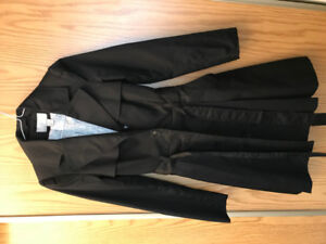 Black Trench Coat - $55 (Lower Lonsdale)