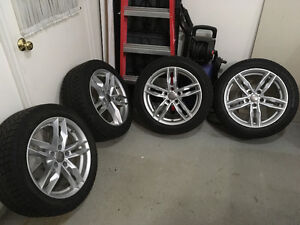 Audi A4 winter tires and rims