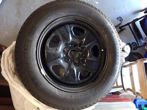 Michelin Latitude X-Ice Xi2 Tires with Rims