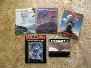 Volcano and Edmonton Tornado Commemorative Books