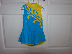 Size 7-8 youth FIGURE SKATING DRESS