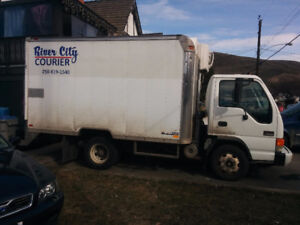 GMC W4500 REFRIGERATED AND HEATED!!!