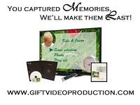 Baby Photo Slideshows, Montages and Home videos on DVD