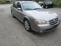 2003 Nissan Maxima GLE Sedan $ 2500 OBO!!! MAKE ME AN OFFER!!!