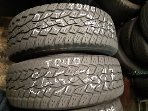 """PAIRS OF 17"""" TIRES"""