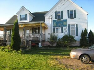 One bedroom upstairs apartment for rent in Grande-Digue NB.