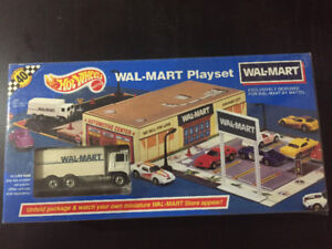 Hot Wheels wal Mart playset