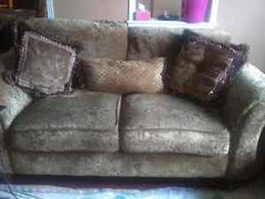 Sofa and love seat from Brick