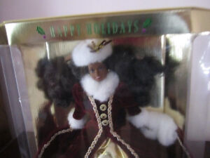 1996 Holiday Barbie Doll - African American