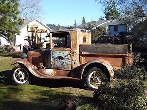 recherche pickup ford model A complet ou en pieces