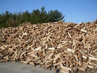 Bush cords delivered, ready to burn hard wood