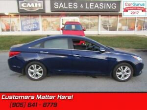 2012 Hyundai Sonata Limited  NAV, LEATHER, SUNROOF, CAMERA, HEAT