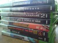 SELLING GAMES for Xbox 360.. (FPS/Racing/RPG)