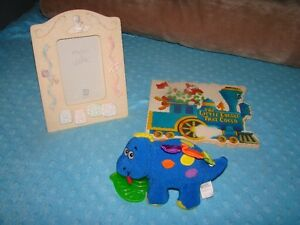 BABY: Book + Toy + Picture Frame