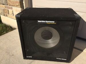"Hartke 15"" XL Series Bass cabinet in good condition  London Ontario image 3"