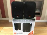 JBL control 1pro compact speakers
