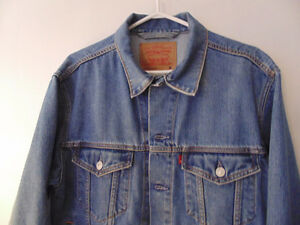 Mens Denim Jean Jacket 'Levis'
