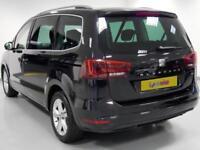 2016 SEAT Alhambra Diesel Estate SE Diesel black Semi Auto