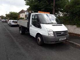 FORD TRANSIT 350 MWB 115ps TIPPER TIDY, REVERSE CAMERA White Manual Diesel, 2009