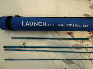 4 wt fly fishing rod, reel, and extras - Brand New