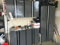 Husky - Steel Garage Cabinets / Tool Bench