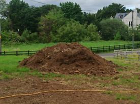 Topsoil (unscreened) landfill