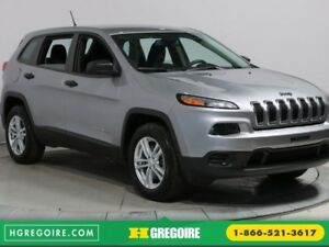 2014 Jeep Cherokee SPORT 4WD A/C BLUETOOTH MAGS