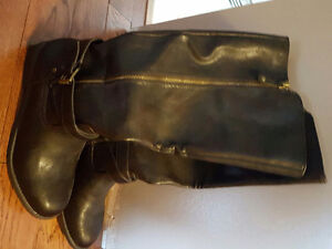 Rockport knee high leather boots
