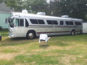 Fully Converted 1967 GMC Coach For Sale