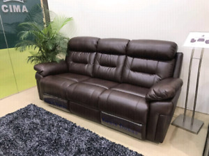 Leather recliner sofa set brand new box packed 3+2+1 $1350